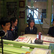 西陵中学校職業体験 生放送出演