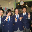西陵中学校職業体験 記念撮影