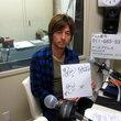 日高拓磨選手 2012年4月27日放送分 収録風景 1
