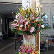 ラジオニセコへマックからのお祝いのお花
