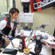 古田寛幸選手 2012年5月25日放送分 収録風景1