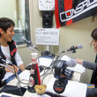 古田寛幸選手 2012年5月25日放送分 収録風景3