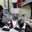 小山内貴哉選手 2012年6月22日放送分 収録風景1