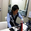 小山内貴哉選手 2012年6月22日放送分 収録風景4