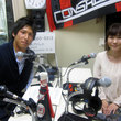 小山内貴哉選手 2012年6月22日放送分 収録風景8