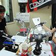 上原慎也選手 2012年7月27日放送分 収録風景