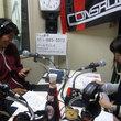 岡山一成選手 2012年7月13日放送分 収録風景5