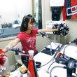 コンサドールズ 梶野志織キャプテン 2012年10月12日放送分 収録風景2