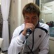 高木貴弘選手 2012年11月23日放送分 収録風景1