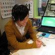堀米悠斗選手 2013年3月22日放送分 収録風景7