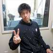 深井一希選手 2013年4月12日放送分 収録風景8
