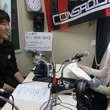 阿波加俊太選手 2013年4月26日放送分 収録風景2