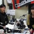 小山内貴哉選手 2013年5月10日放送分 収録風景6