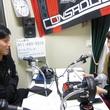 小山内貴哉選手 2013年5月10日放送分 収録風景