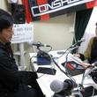 小山内貴哉選手 2013年5月10日放送分 収録風景2