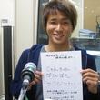 横野純貴選手 2013年5月24日放送分 収録風景