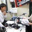 永坂勇人選手 2013年6月14日放送分 収録風景1