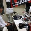 神田夢実選手 2013年6月28日放送分 収録風景2