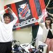 神田夢実選手 2013年6月28日放送分 収録風景8