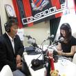 三上大勝GM 2013年7月12日放送分 収録風景4