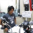 前貴之選手 2013年7月26日放送分 収録風景1