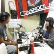 前貴之選手 2013年7月26日放送分 収録風景2