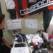櫛引一紀選手 2013年9月13日放送分 収録風景1