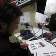 三上陽輔選手 2013年9月27日放送分 収録風景4