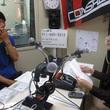 荒野拓馬選手 2013年10月11日放送分 収録風景1