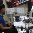 荒野拓馬選手 2013年10月11日放送分 収録風景3