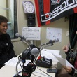 松本怜太選手 2013年10月25日放送分 収録風景1