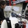 松本怜太選手 2013年10月25日放送分 収録風景3