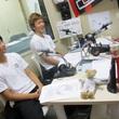 永坂勇人選手と中原彰吾選手 2013年11月8日放送分 収録風景5