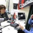 菊岡拓朗選手 2014年4月25日放送分 収録風景1