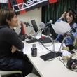 菊岡拓朗選手 2014年4月25日放送分 収録風景3
