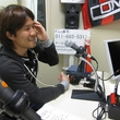 菊岡拓朗選手 2014年4月25日放送分 収録風景4