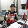 金山隼樹選手 2014年5月23日放送分 収録風景3