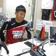 金山隼樹選手 2014年5月23日放送分 収録風景6