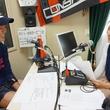 内山裕貴選手 2014年6月27日放送分 収録風景2