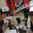 内山裕貴選手 2014年6月27日放送分 収録風景3