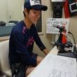 内山裕貴選手 2014年6月27日放送分 収録風景4