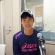 内山裕貴選手 2014年6月27日放送分 収録風景6
