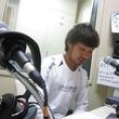 上原拓郎選手 2014年6月13日放送分 収録風景4