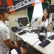 石井 謙伍 選手 2014年7月25日放送分 収録風景4