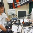 阿波加 俊太 選手 2014年8月22日放送分 収録風景1