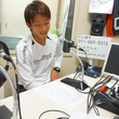 永坂勇人選手 2014年9月26日放送分 収録風景2