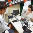 永坂勇人選手 2014年9月26日放送分 収録風景3