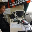 櫛引一紀選手 2014年10月24日放送分 収録風景2