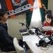 荒野拓馬選手 2014年12月12日放送分 収録風景1