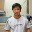 堀米悠斗選手 2015年4月24日放送分 収録風景3
